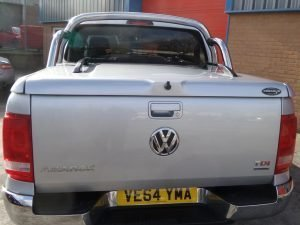 vw amarok top up cover styling bars tonneau lid 7 Pegasus 4x4