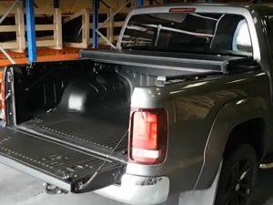 VW Amarok Tri Fold Aluminium Sports Lid