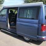 vw transporter camper electric side steps Pegasus 4x4