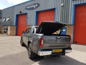 Mercedes-Benz X-Class Top Up Cover Tonneau Lid with Styling Bar