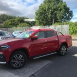 x class danakil red pick up accessories Pegasus 4x4